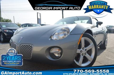 2007 Pontiac Solstice for sale in Alpharetta, GA