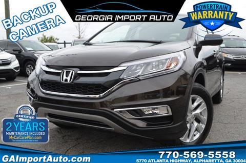 2015 Honda CR-V for sale in Alpharetta, GA