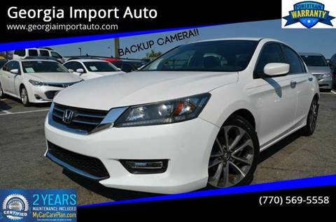 2015 Honda Accord for sale in Alpharetta, GA