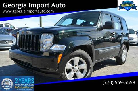 2012 Jeep Liberty for sale in Alpharetta, GA
