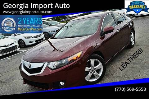 Acura TSX For Sale in Alpharetta, GA - Georgia Import Auto