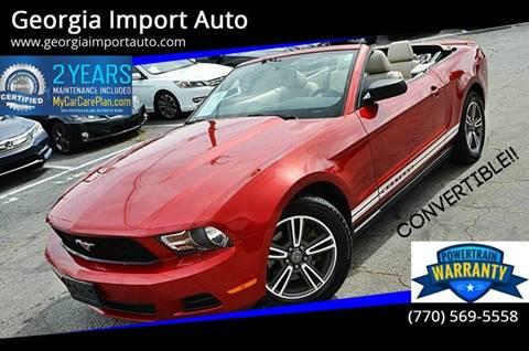 2011 Ford Mustang for sale in Alpharetta, GA
