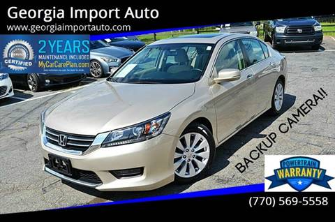 2014 Honda Accord for sale in Alpharetta, GA