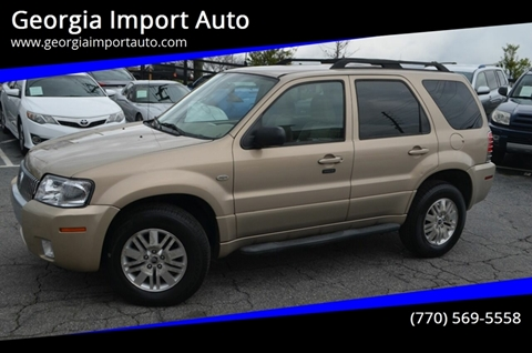 2007 Mercury Mariner for sale at Georgia Import Auto in Alpharetta GA