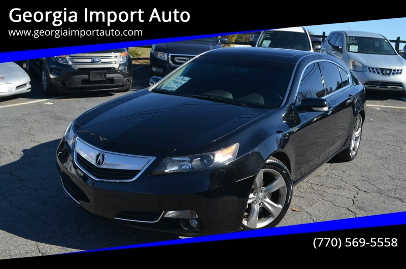 2012 Acura TL for sale at Georgia Import Auto in Alpharetta GA