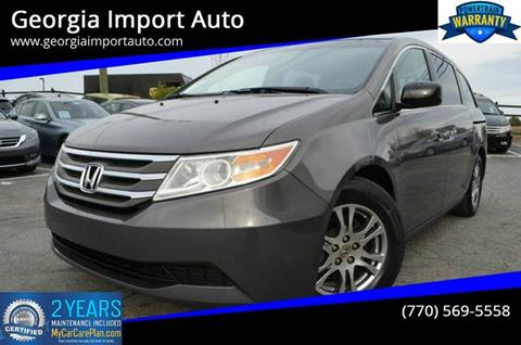 2011 Honda Odyssey for sale in Alpharetta, GA