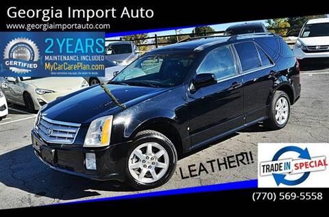 2007 Cadillac SRX for sale at Georgia Import Auto in Alpharetta GA
