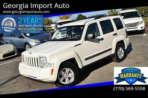 2010 Jeep Liberty for sale in Alpharetta, GA