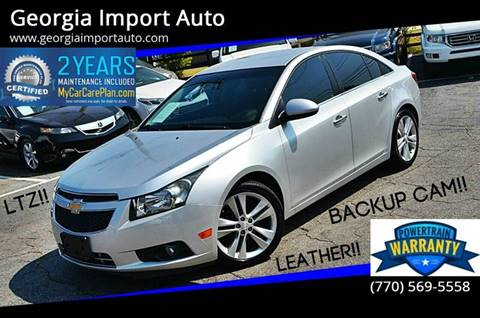 2013 Chevrolet Cruze for sale in Alpharetta, GA