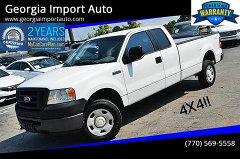 2008 Ford F-150 for sale at Georgia Import Auto in Alpharetta GA