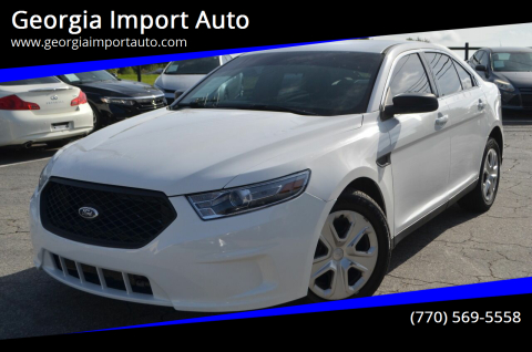 2013 Ford Taurus for sale at Georgia Import Auto in Alpharetta GA