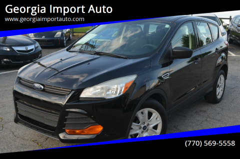 2014 Ford Escape for sale at Georgia Import Auto in Alpharetta GA
