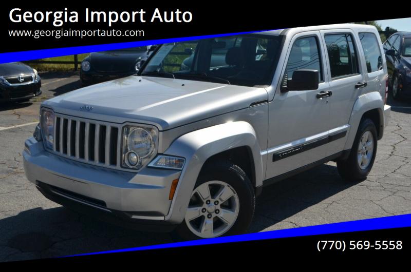 2011 Jeep Liberty for sale at Georgia Import Auto in Alpharetta GA