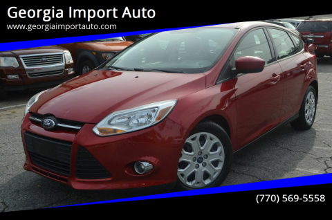 2012 Ford Focus for sale at Georgia Import Auto in Alpharetta GA
