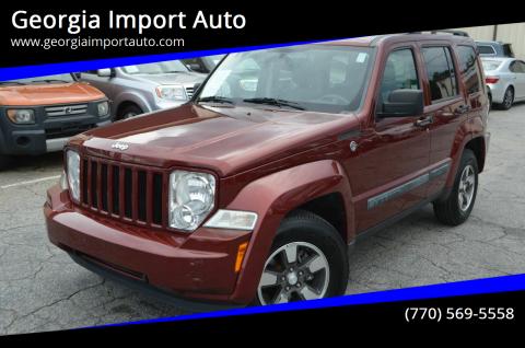 2008 Jeep Liberty for sale at Georgia Import Auto in Alpharetta GA