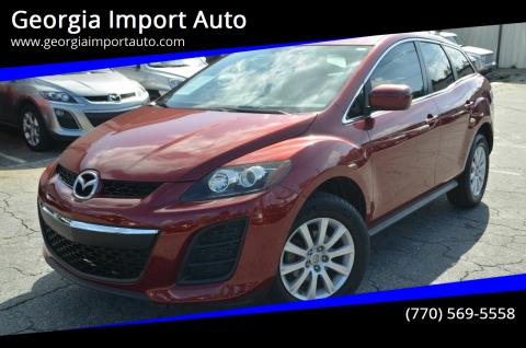 2011 Mazda CX-7 for sale at Georgia Import Auto in Alpharetta GA