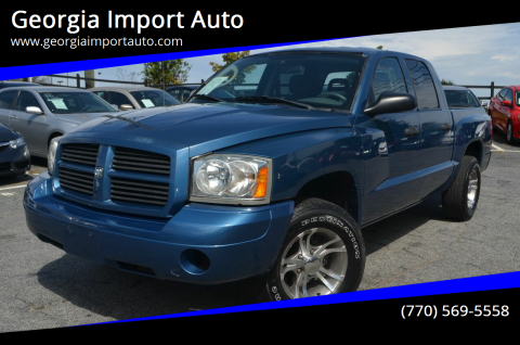 2006 Dodge Dakota for sale at Georgia Import Auto in Alpharetta GA