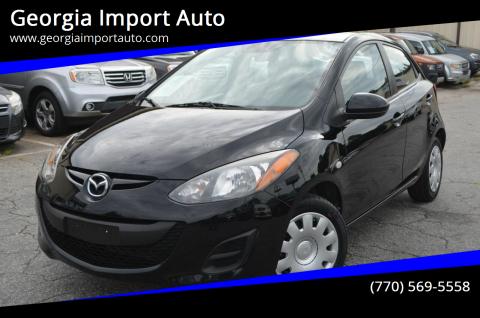 2012 Mazda MAZDA2 for sale at Georgia Import Auto in Alpharetta GA