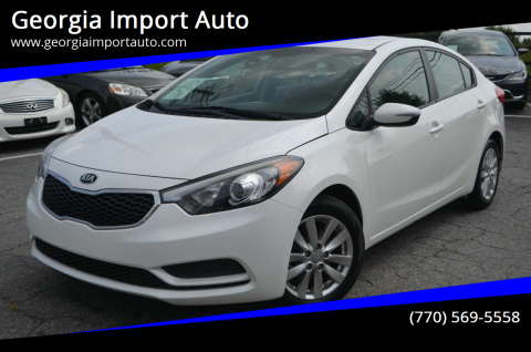 2014 Kia Forte for sale at Georgia Import Auto in Alpharetta GA
