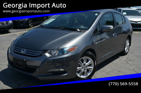 2010 Honda Insight for sale at Georgia Import Auto in Alpharetta GA