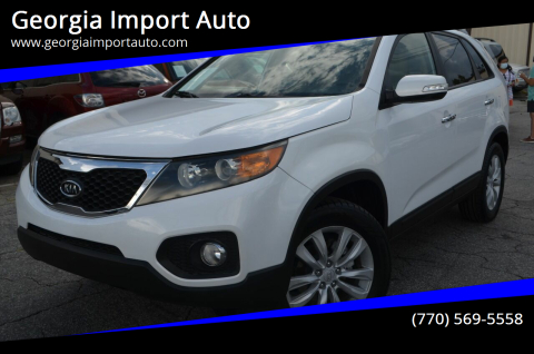2011 Kia Sorento for sale at Georgia Import Auto in Alpharetta GA
