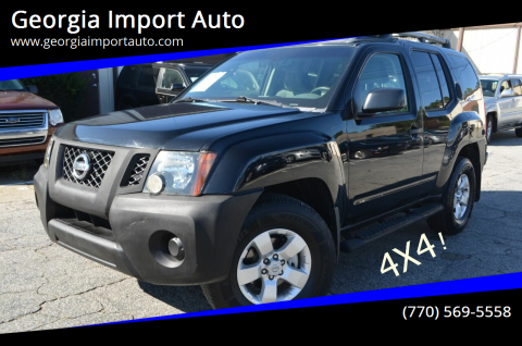 2009 Nissan Xterra for sale at Georgia Import Auto in Alpharetta GA