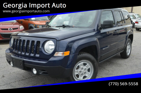 2016 Jeep Patriot for sale at Georgia Import Auto in Alpharetta GA
