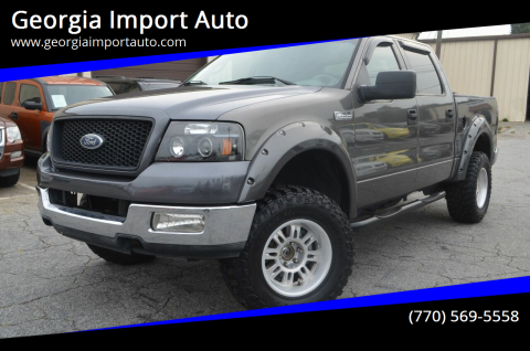 2004 Ford F-150 for sale at Georgia Import Auto in Alpharetta GA