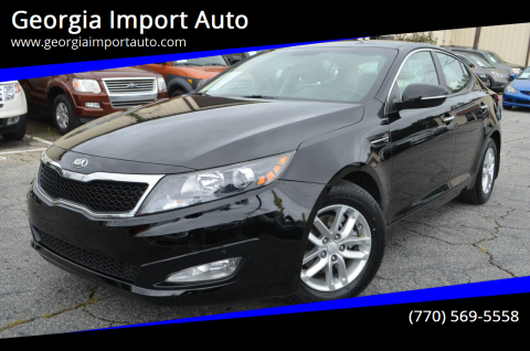 2013 Kia Optima for sale at Georgia Import Auto in Alpharetta GA