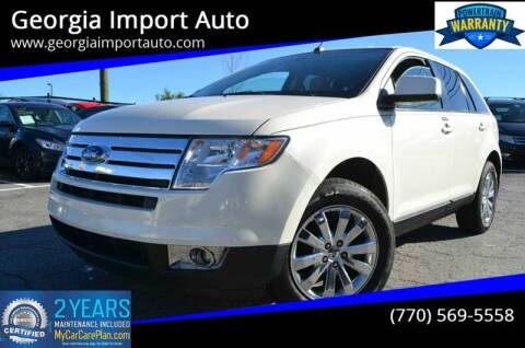 2008 Ford Edge for sale at Georgia Import Auto in Alpharetta GA
