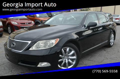 2008 Lexus LS 460 for sale at Georgia Import Auto in Alpharetta GA
