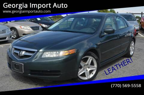 2004 Acura TL for sale at Georgia Import Auto in Alpharetta GA