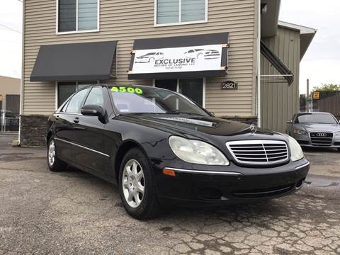 2001 Mercedes Benz S Class For Sale In Lansing Mi