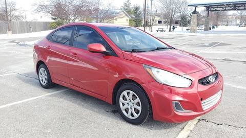 2012 Hyundai Accent for sale at Nationwide Auto in Merriam KS
