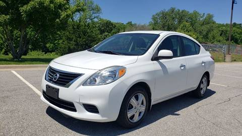 2013 Nissan Versa for sale at Nationwide Auto in Merriam KS