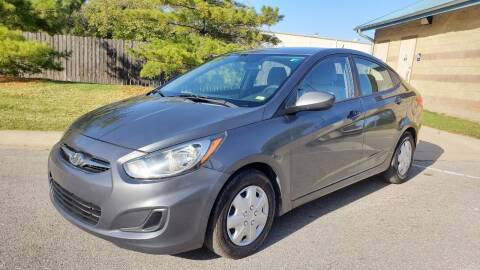 2013 Hyundai Accent for sale at Nationwide Auto in Merriam KS