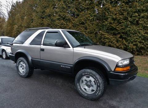 2002 Chevrolet Blazer LS for sale at CARS II in Brookfield OH