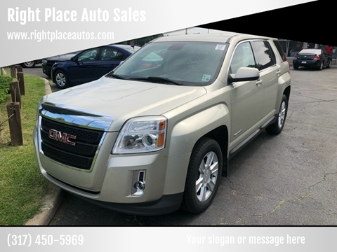 2013 GMC Terrain for sale at Right Place Auto Sales in Indianapolis IN