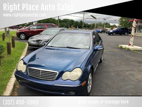 2003 Mercedes-Benz C-Class for sale at Right Place Auto Sales in Indianapolis IN