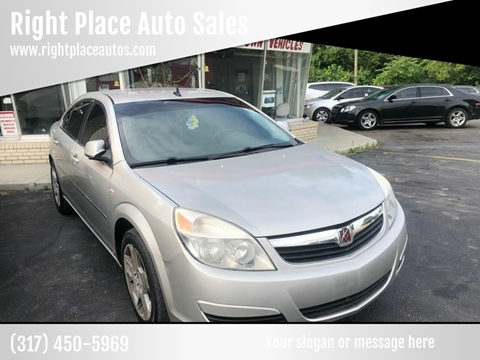 2008 Saturn Aura for sale at Right Place Auto Sales in Indianapolis IN