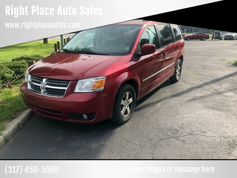 2010 Dodge Grand Caravan for sale at Right Place Auto Sales in Indianapolis IN