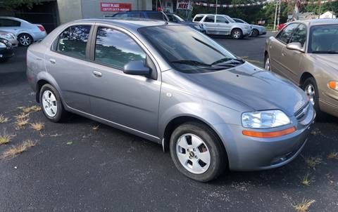 2006 Chevrolet Aveo for sale at Right Place Auto Sales in Indianapolis IN