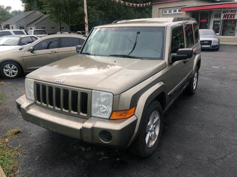 2006 Jeep Commander for sale at Right Place Auto Sales in Indianapolis IN