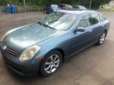2005 Infiniti G35 for sale at Right Place Auto Sales in Indianapolis IN