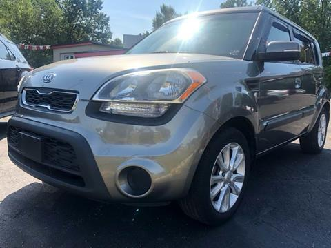 2012 Kia Soul for sale at Right Place Auto Sales in Indianapolis IN