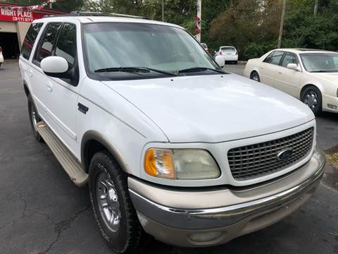 2001 Ford Expedition for sale at Right Place Auto Sales in Indianapolis IN