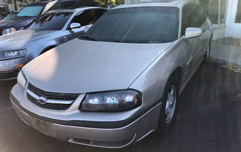 2002 Chevrolet Impala for sale at Right Place Auto Sales in Indianapolis IN