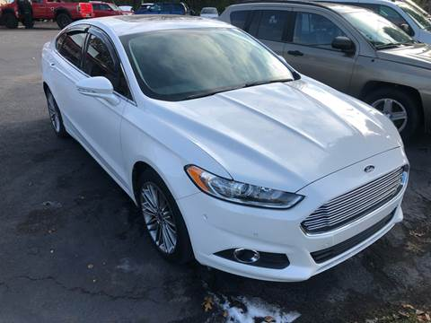 2013 Ford Fusion for sale at Right Place Auto Sales in Indianapolis IN