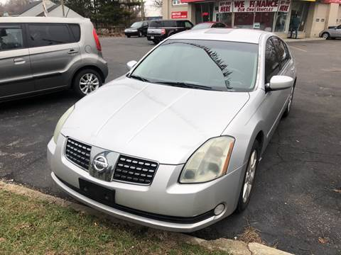 2004 Nissan Maxima for sale at Right Place Auto Sales in Indianapolis IN