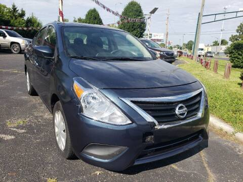 2014 Nissan Versa for sale at Right Place Auto Sales in Indianapolis IN